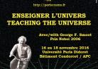 Affiche Enseigner l'Univers 2016